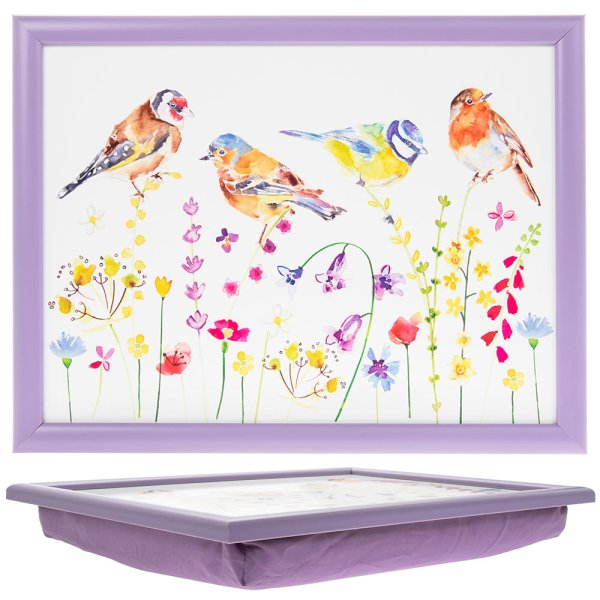 GARDEN BIRDS LAPTRAY