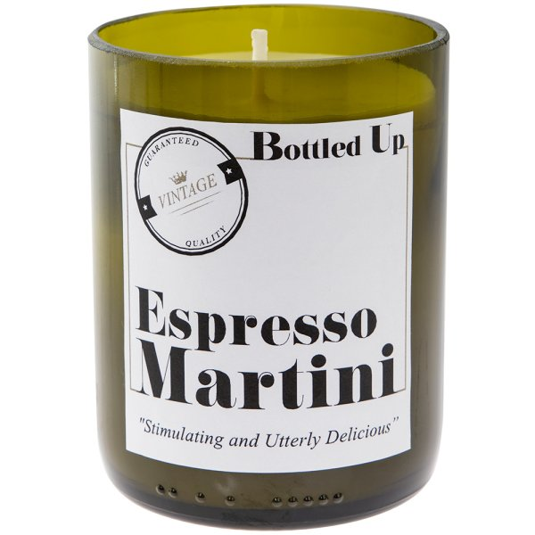 EXPRESSO MARTINI BOTTLE CANDLE