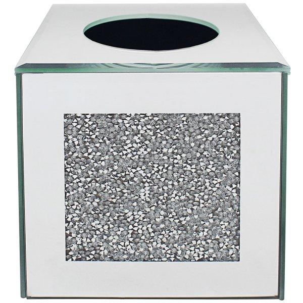 CRYSTAL TISSUE BOX