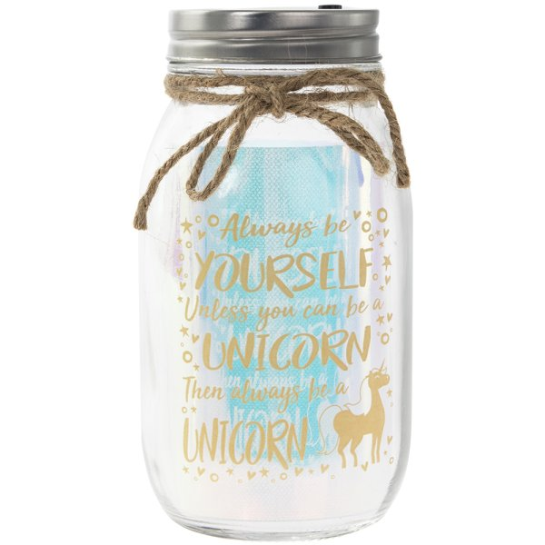 LED JAR UNICORN