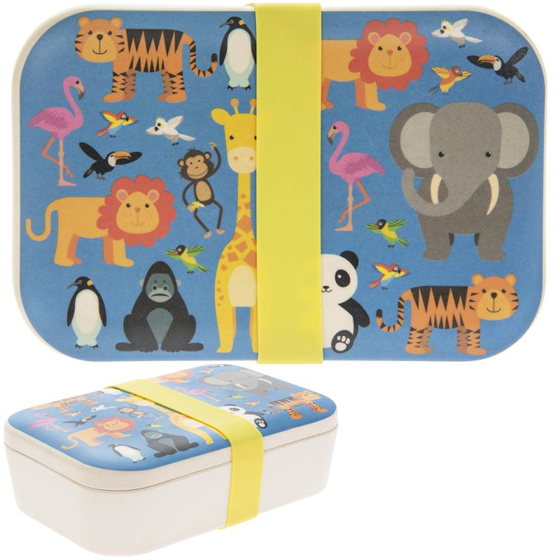 BAMBOO ECO LUNCH BOX ZOO