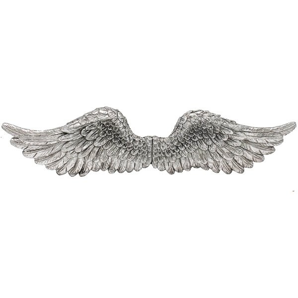 SILVER ART ANGEL WINGS 20""