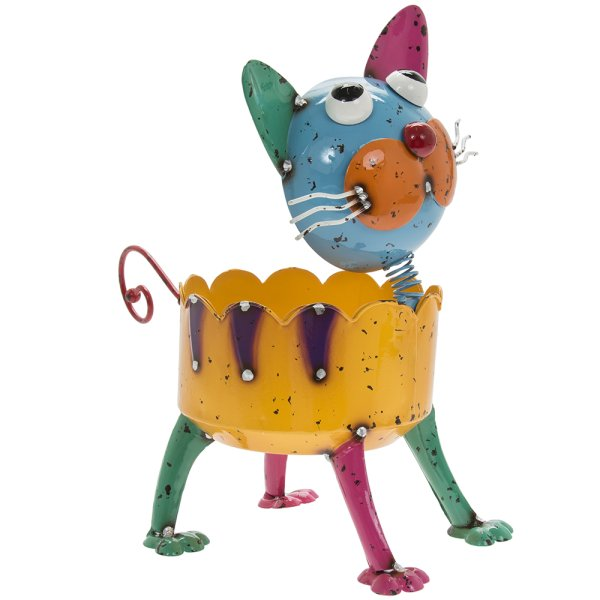 BRIGHT EYES CAT PLANTER