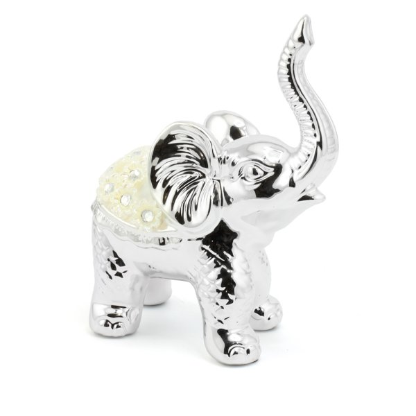 SILVER MILLE ELEPHANT - L