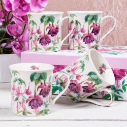 Fuchsia Mugs on Social Media