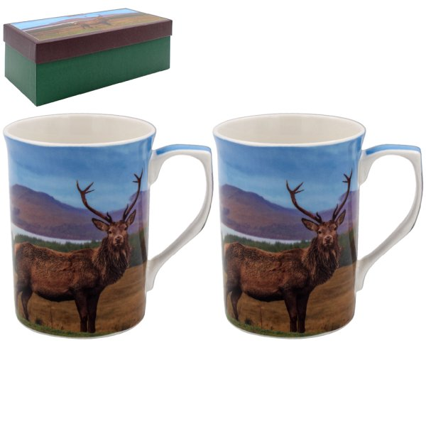 STAG MUGS SET 2