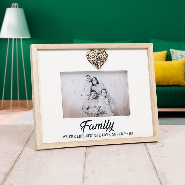 SENTIMENTS FRAME FAMILY 4X6