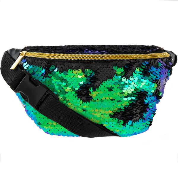SEQUIN BUMBAG MULTI COLOUR