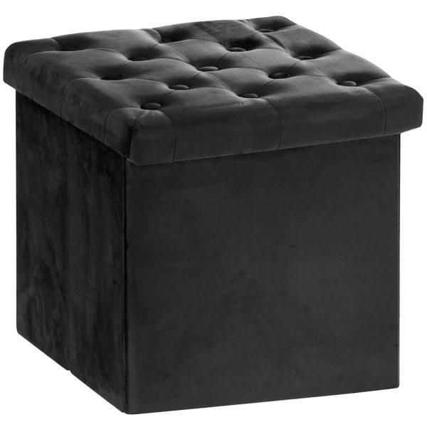 BLACK VELVET FOLDING BOX