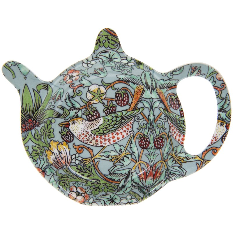 S'BERRY THIEF TEAL TEABAG TIDY