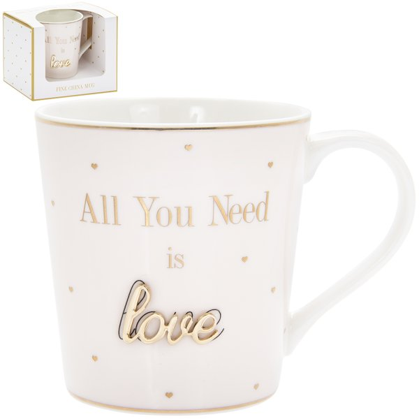 OH SO CHARMING LOVE MUG