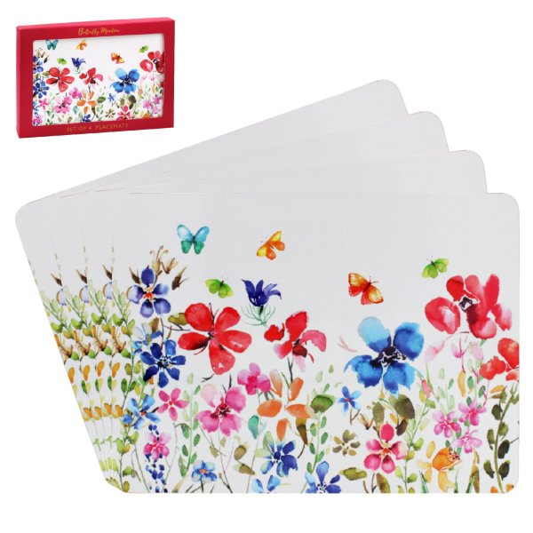 BUTTERFLY MEADOW PLACEMATS S4