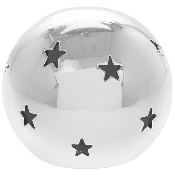 SILVER STAR LED BALL L