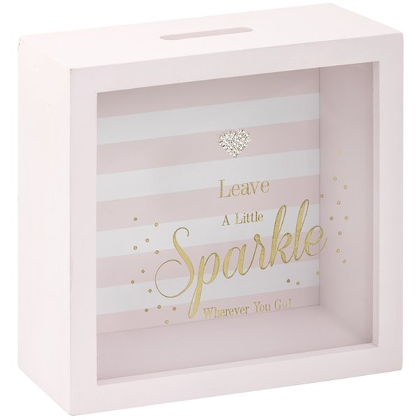 MAD DOTS SPARKLE MONEY BOX