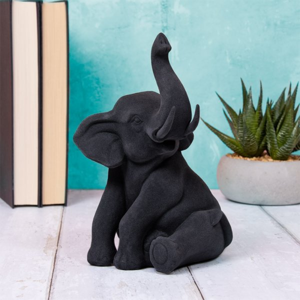 BLACK VELVET ELEPHANT