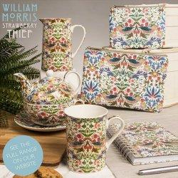 William Morris White Strawberry Thief... on Instagram!
