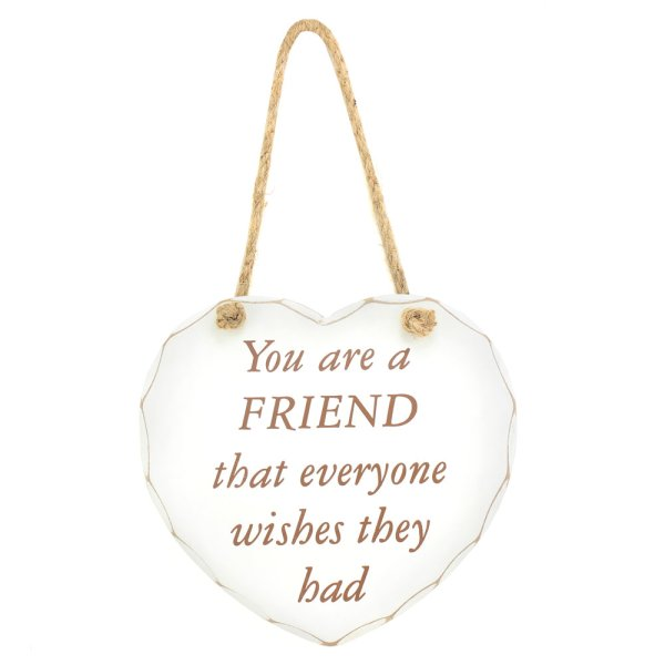 FRIEND EVERYONE WISHES PLAQUE