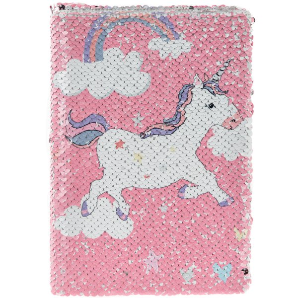 UNICORN SEQUIN NOTEBOOK