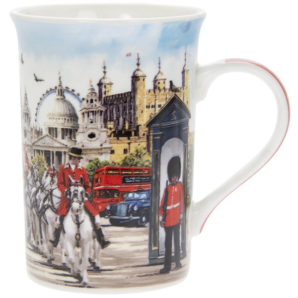LONDON COLLAGE MUG