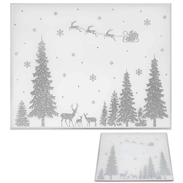 XMAS GLITTER PLACEMATS S2