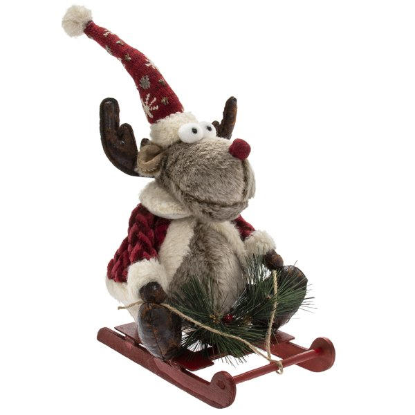 REINDEER WITH SLEDGE