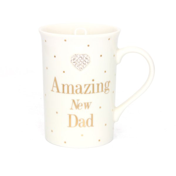 MAD DOTS NEW DAD MUG