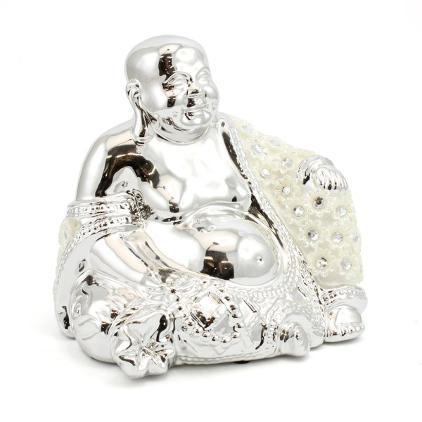 SILVER MILLE HAPPY BUDDHA LGE