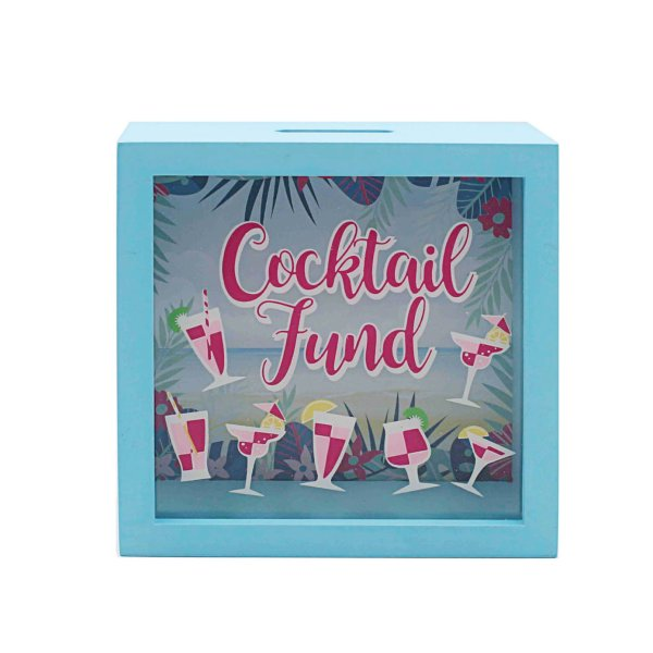 COCKTAIL MONEY BOX