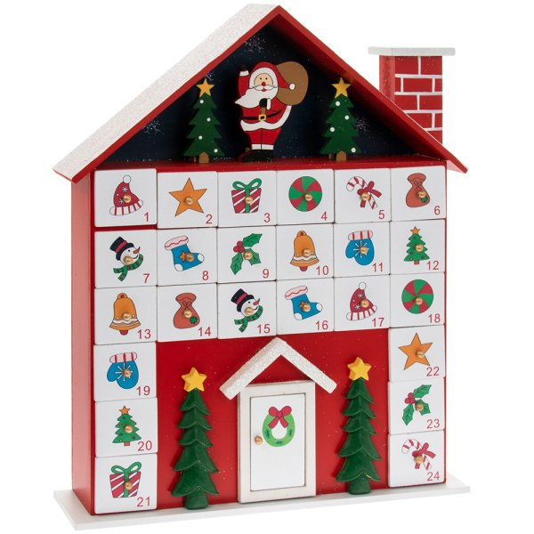 XMAS COTTAGE ADVENT CALENDAR