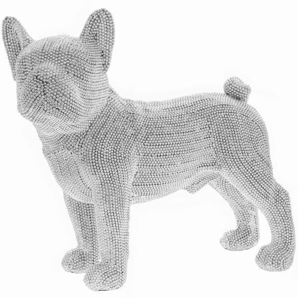SILVER ART FRENCH BULLDOG