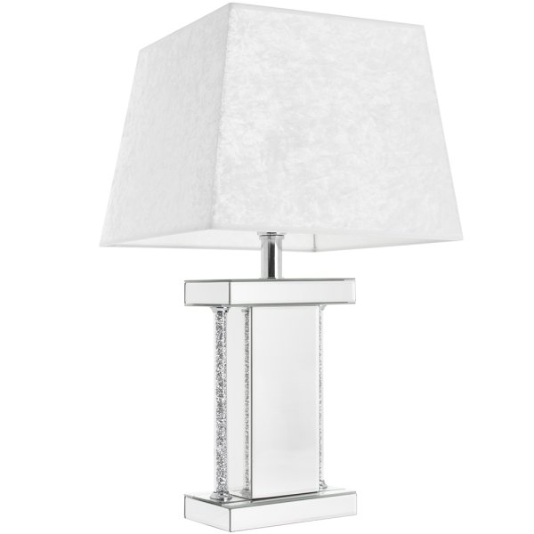 CRYSTAL CLEAR DIAMANTE LAMP