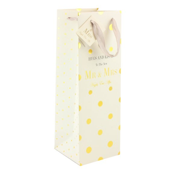 MAD DOTS WEDDING BOTTLE BAG