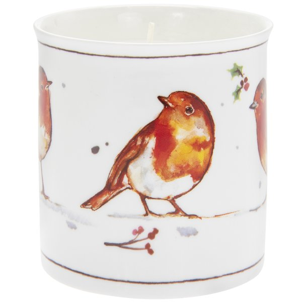 WINTER ROBINS SCENTED CANDLE