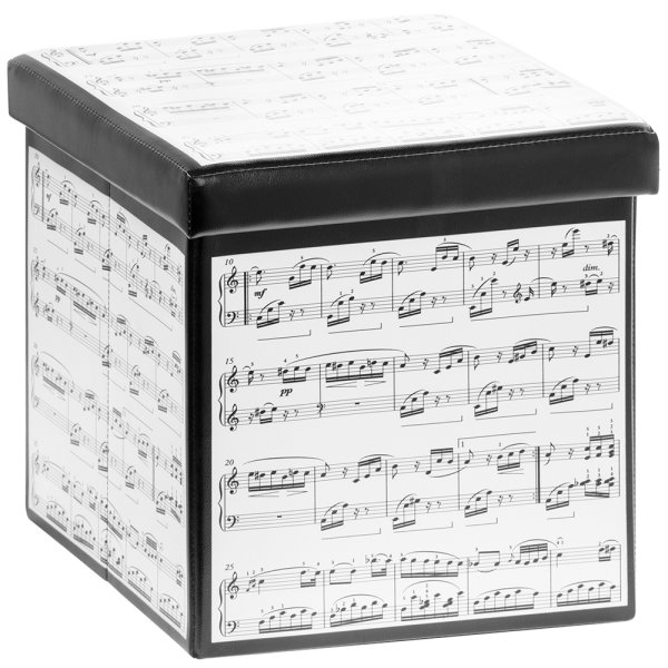 MAKING MUSIC FOLDING STORE BOX