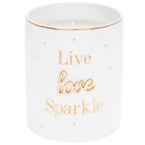 OH SO CHARMING SPARKLE CANDLE