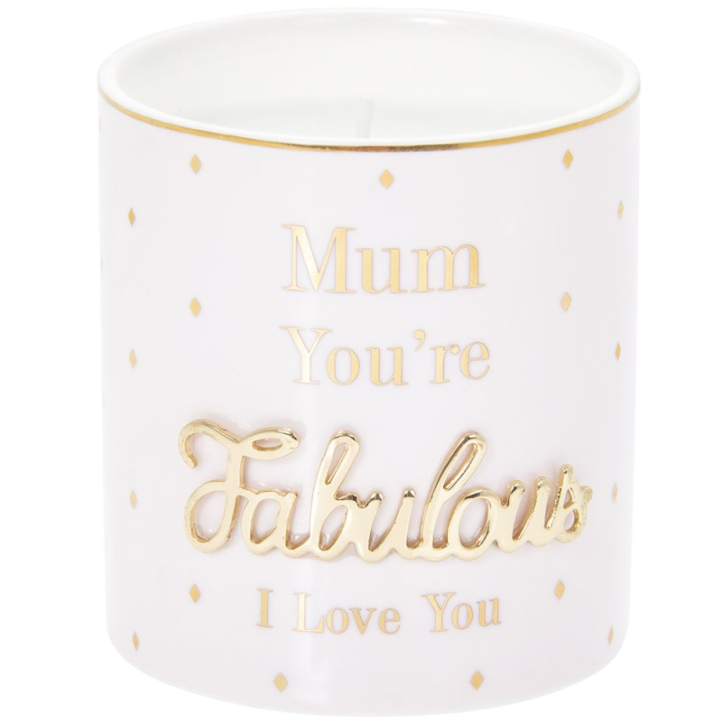 OH SO CHARMING MUM CANDLE