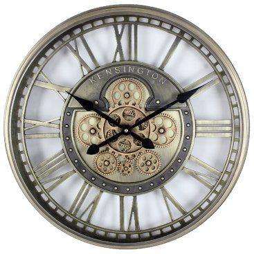 ANTIQUE MOVING COGS CLOCKS