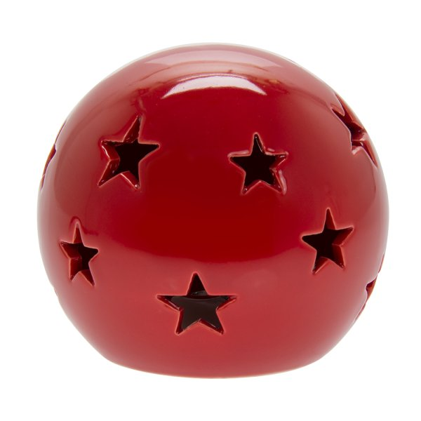 RED STAR LED BALL M