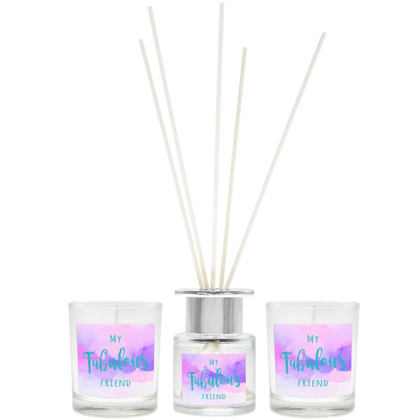 FAB FRIEND DIFFUSER& CANDLESET