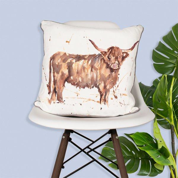 COUNTRY LIFE HIGHLAND COW CUSH
