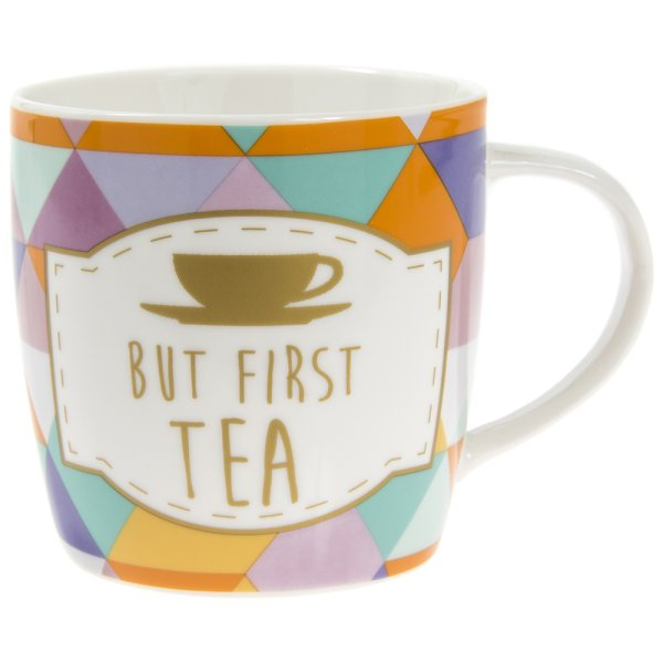 BUT FIRST TEA MUG