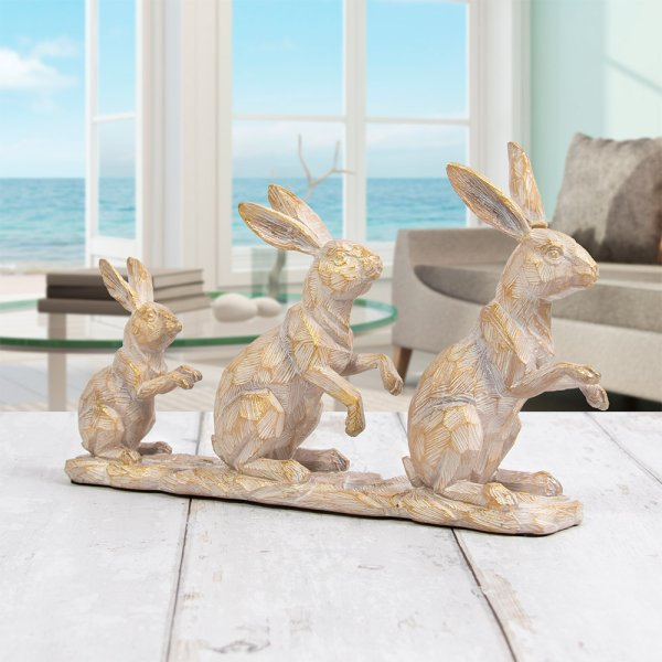 FAMILY OF 3 HARES