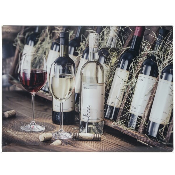 WINE LARGE GLASS CUTTING BOARD