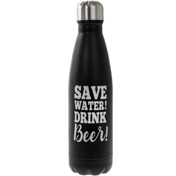 BEER METAL DRINK FLASK