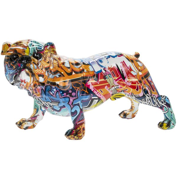GRAFFITI ART BULLDOG L