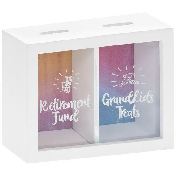 RETIREMENT&GRANDKIDS MONEY BOX