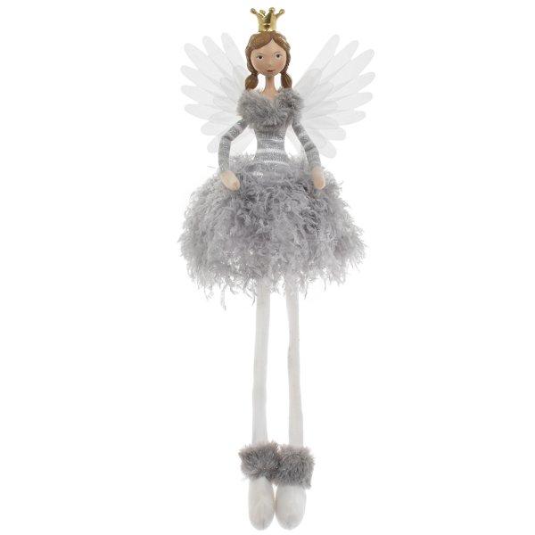 ANGEL SITTING GREY