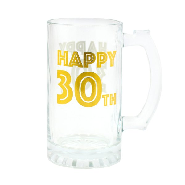 HAPPY 30TH TANKARD
