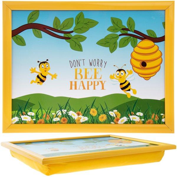 BEE HAPPY LAPTRAY LGE