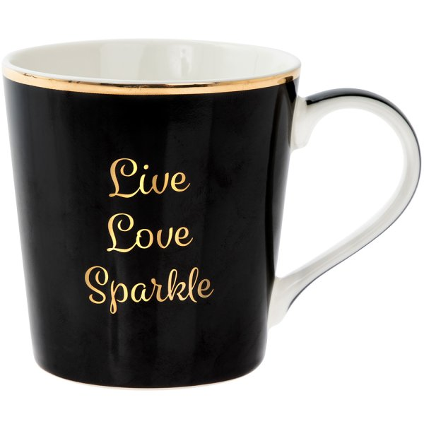 SHINEBRIGHT LIVELOVESPARKLEMUG